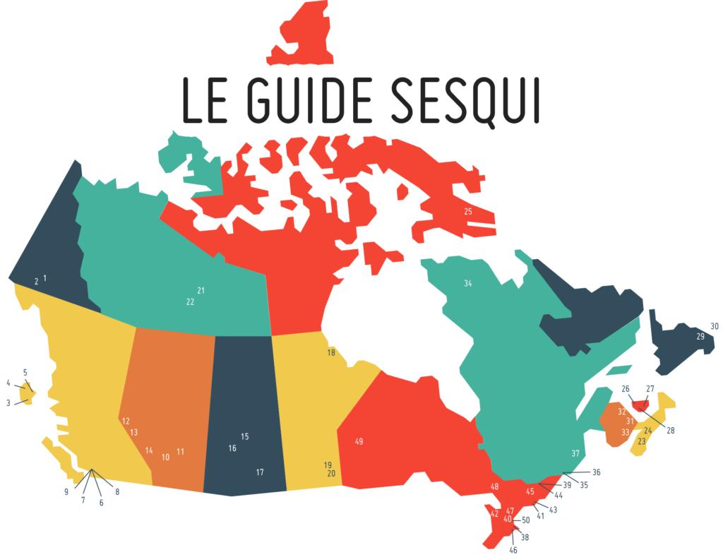 Le guide SESQUI
